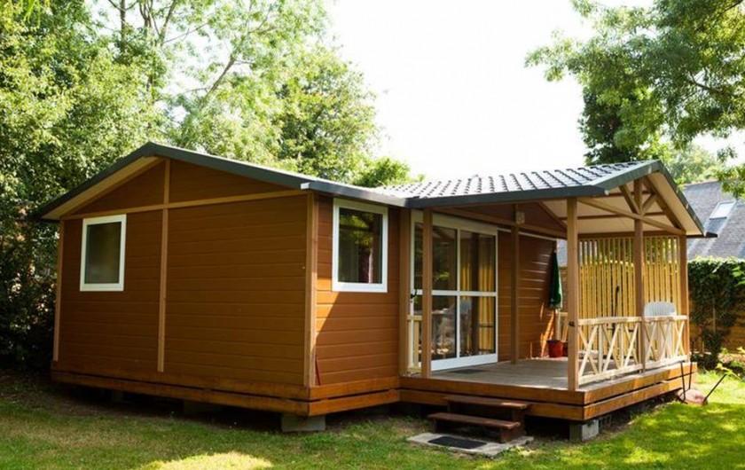 Location de vacances - Camping à Bénodet - Le chalet Le Cottage