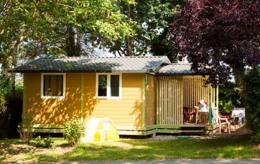 Location de vacances - Camping à Bénodet - Le chalet Le Club