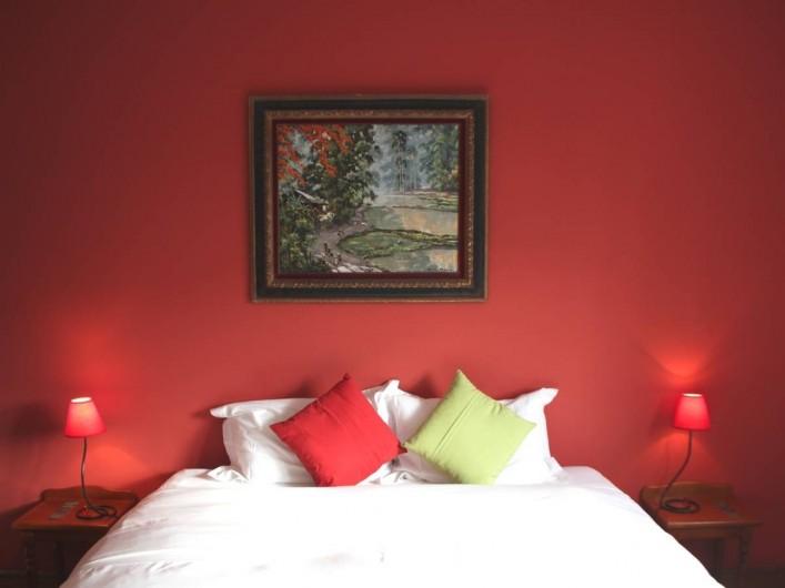 Location de vacances - Chambre d'hôtes à Île-aux-Moines - KOH TAO Lit double en 180 séparable