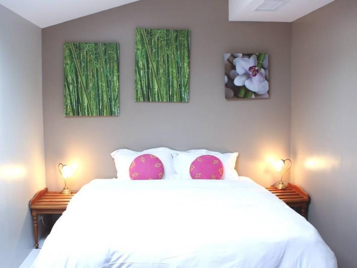 Location de vacances - Chambre d'hôtes à Île-aux-Moines - ILE MAURICE  le  gite , chambre avec lit double séparable