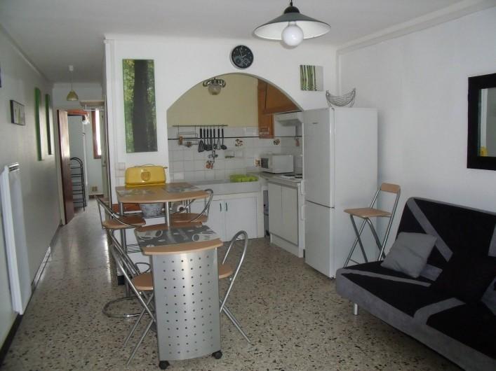 Location de vacances - Appartement à Le Grau d'Agde - coin cuisine