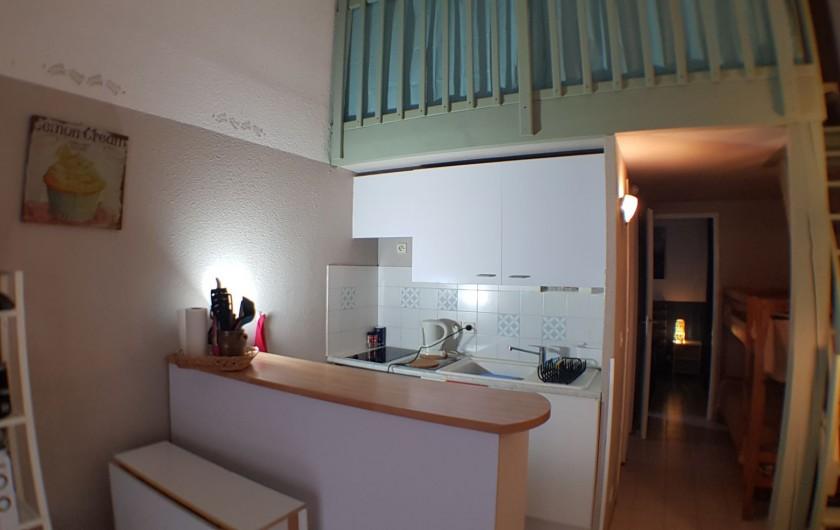Location de vacances - Villa à Le Lavandou - La partie cuisine