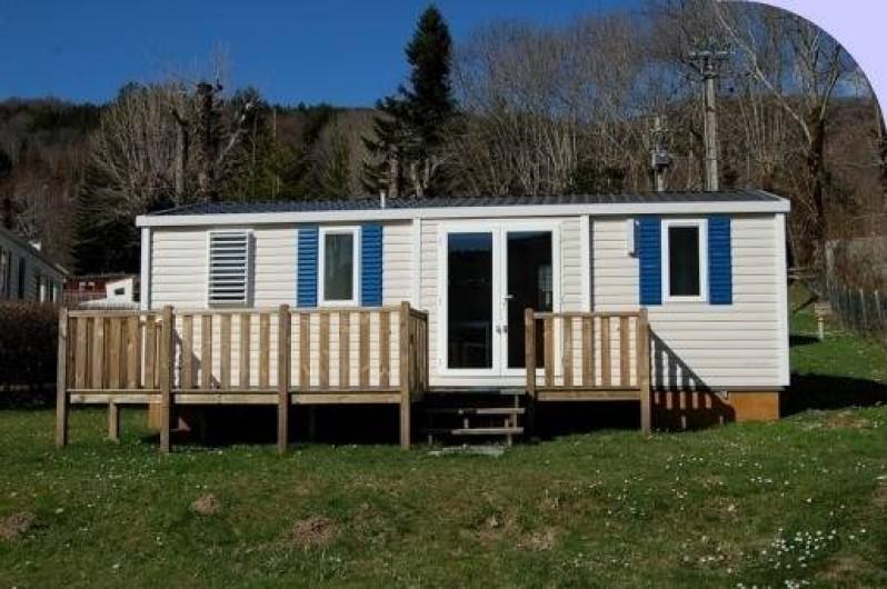 Location de vacances - Camping à La Bourboule - Mobil-home 34 m² 3ch