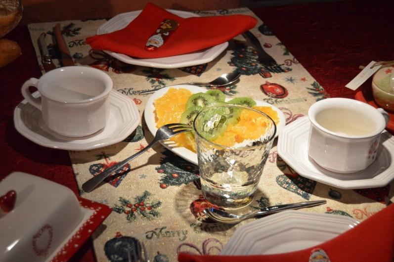 Location de vacances - Chambre d'hôtes à Marlenheim - Petit déjeuner
