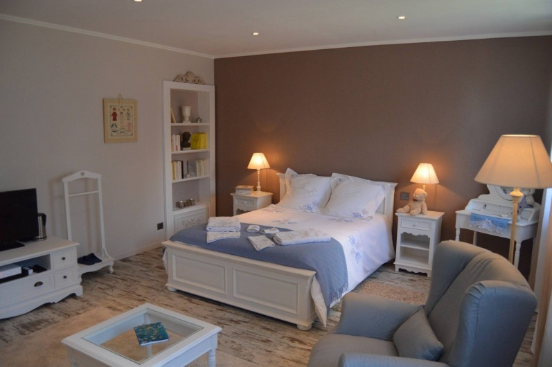Location de vacances - Chambre d'hôtes à Marlenheim - La grande chambre