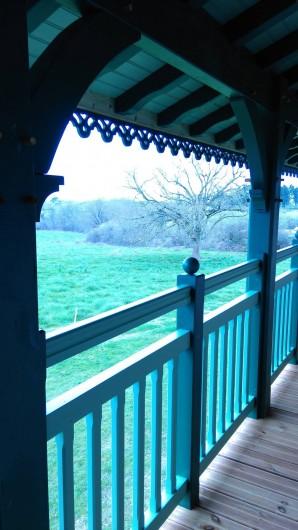 Location de vacances - Chambre d'hôtes à Poudenx - Balcon chambres
