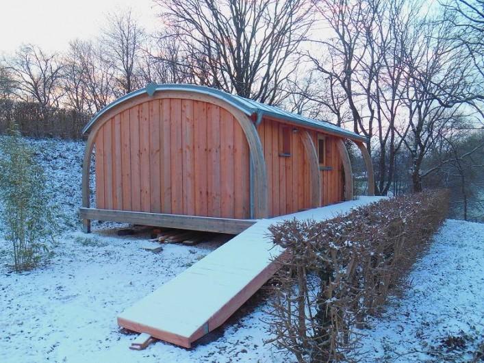 Location de vacances - Insolite à La Châtre - Confortable même en hiver!