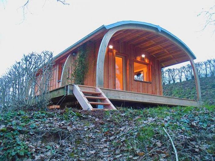 Location de vacances - Insolite à La Châtre - 4 cabanes de charme et grand-confort  à louer toute l'année