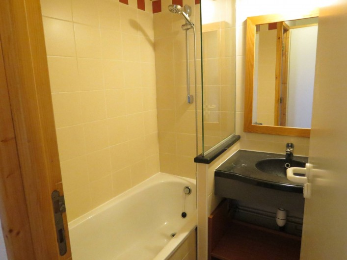 Location de vacances - Appartement à Belle Plagne - BAIN AVEC WC SÉPARÉ