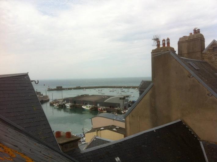 Location de vacances - Appartement à Granville - Le Port vu de la Cité
