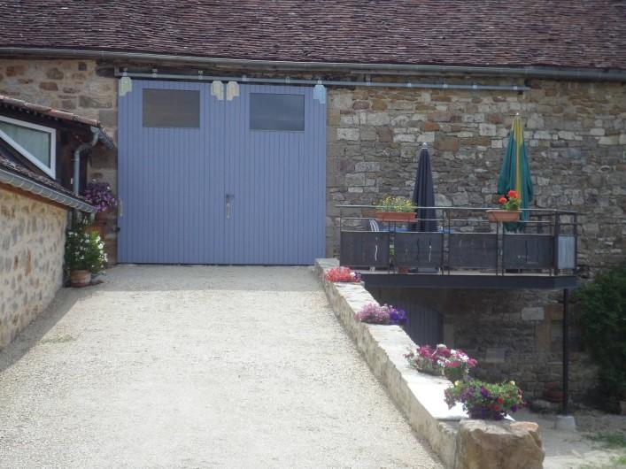 Location de vacances - Maison - Villa à Causse-et-Diège - au bout la terrasse!