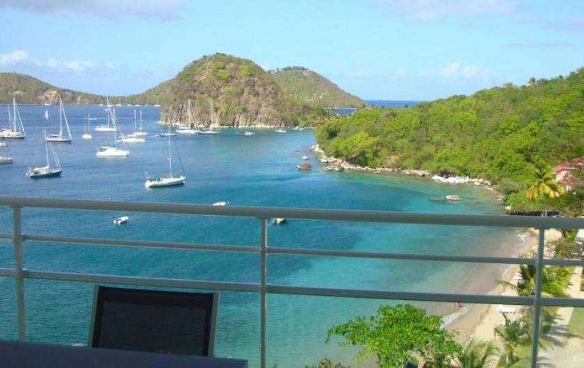 Location de vacances - Hôtel - Auberge à Terre-de-Haut - Votre Vue Panoramique !!