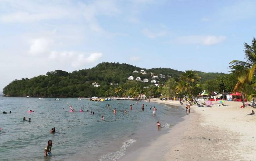 Location de vacances - Appartement à Les Trois-Îlets - A 2mn à pied de la résidence