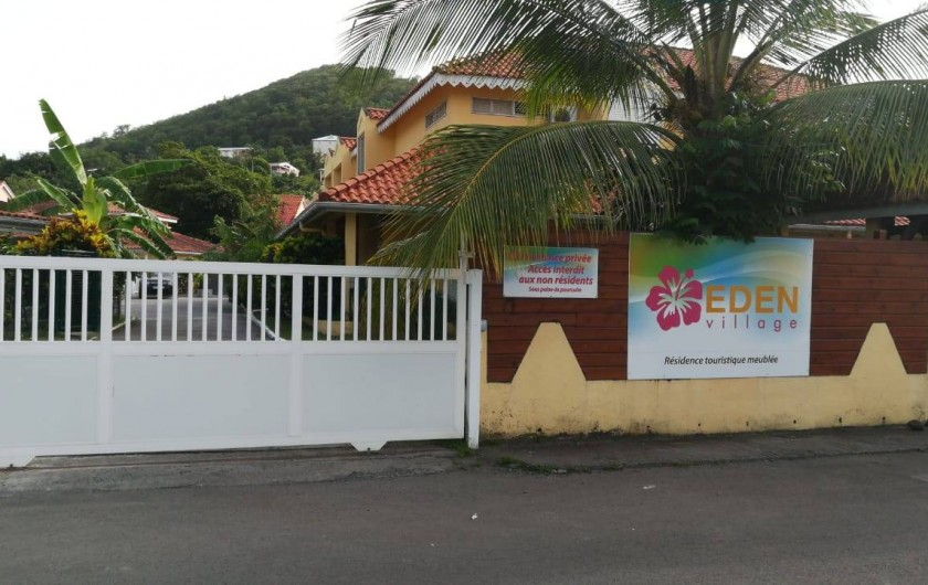 Location de vacances - Appartement à Les Trois-Îlets - Résidence privée, sécurisée