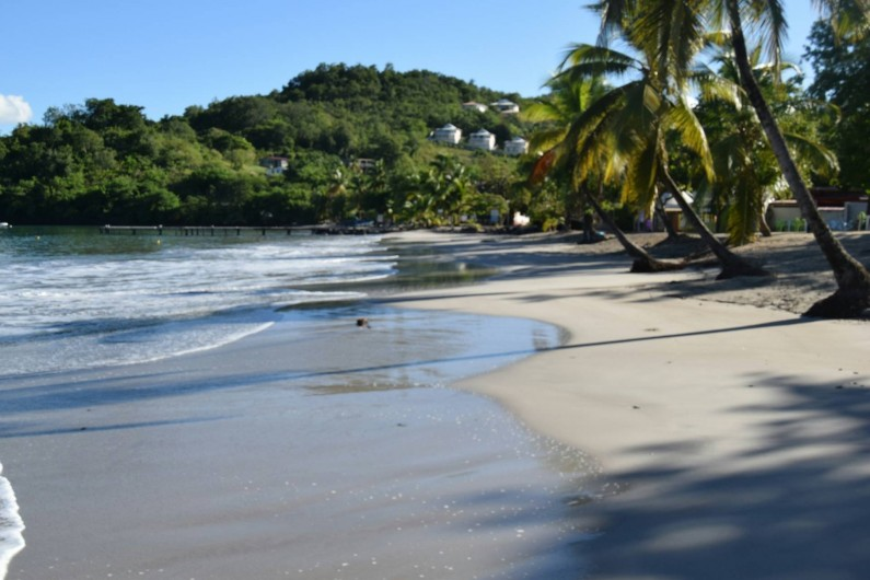 Location de vacances - Appartement à Les Trois-Îlets - Une des plages de l'Anse à l'Âne