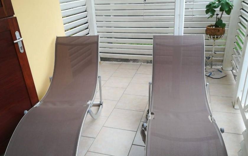 Location de vacances - Appartement à Les Trois-Îlets