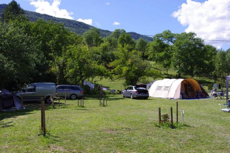 Location de vacances - Camping à La Motte-Chalancon