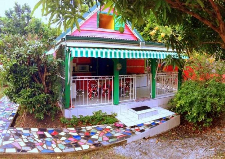Location de vacances - Bungalow - Mobilhome à Sainte-Anne - Bungalow 1
