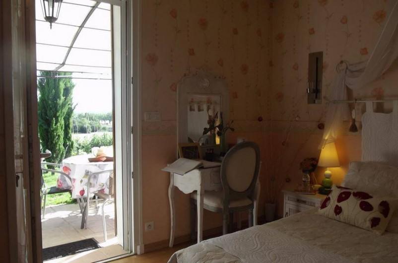 """Location de vacances - Chambre d'hôtes à Virazeil - """"Les Coquelicots"""""""