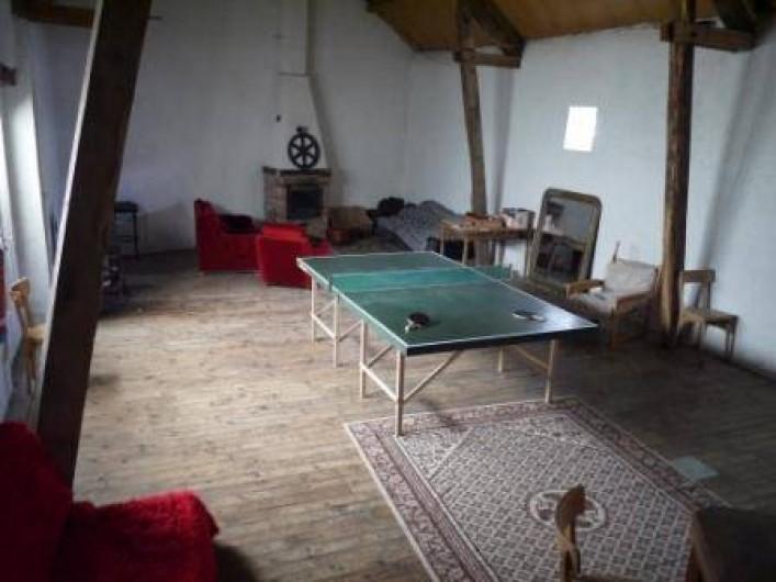 Location de vacances - Gîte à Saint-Rémy-de-Blot - salle d'activité