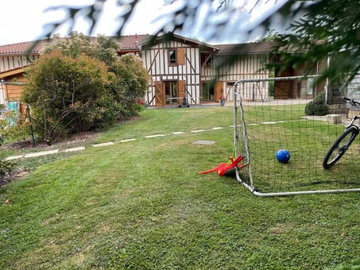 Location de vacances - Villa à Écollemont - Grde Pièce à vitre
