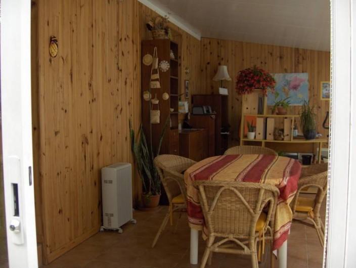 Location de vacances - Appartement à Arcachon - véranda climatisée