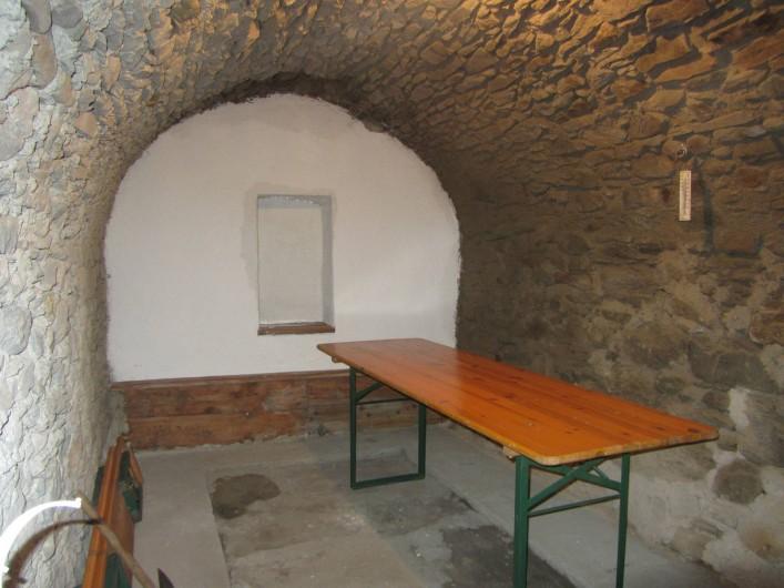 Location de vacances - Studio à Rhêmes-Notre-Dame - La cave