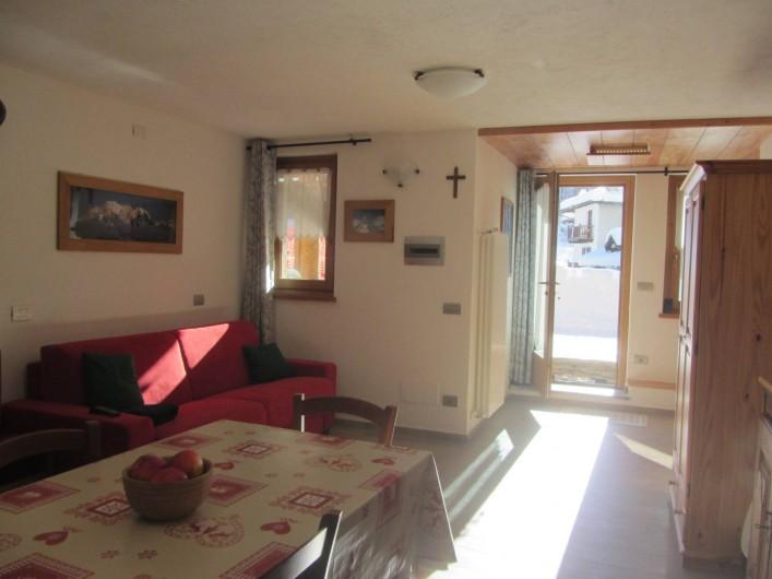 Location de vacances - Studio à Rhêmes-Notre-Dame - canapé-lit
