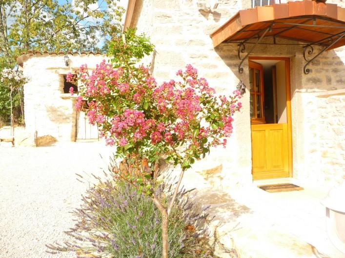Location de vacances - Villa à Cahors - Lagéstroémia et lavandes