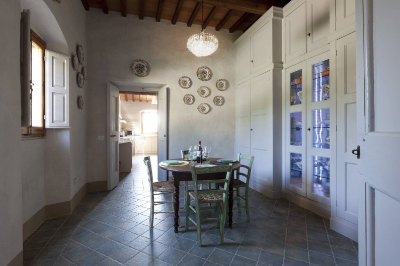 Location de vacances - Villa à San Donato In Collina - Office/Breakfast room