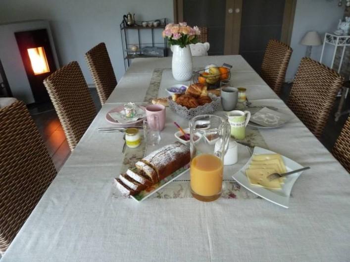 Location de vacances - Chambre d'hôtes à Rouvres-en-Woëvre - Votre petit-déjeuner
