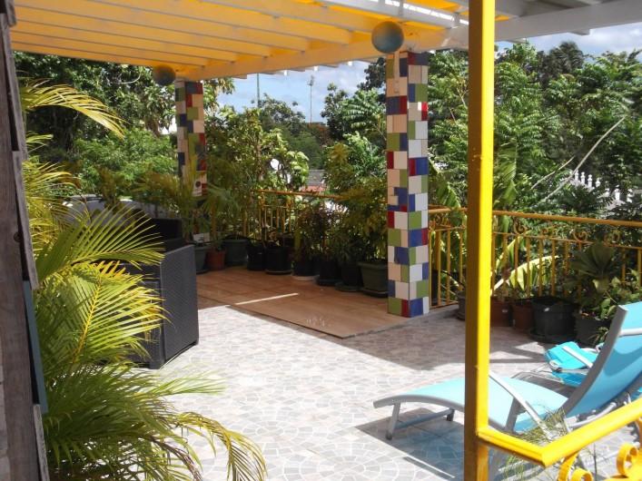 Location de vacances - Appartement à Port-Louis - Terrasse arrière