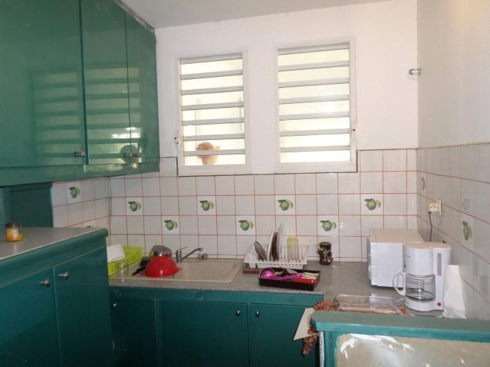 Location de vacances - Appartement à Port-Louis - Cuisine F2 RDC