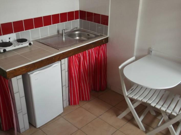 Location de vacances - Appartement à Port-Louis - Coin Cuisine Studio et F2