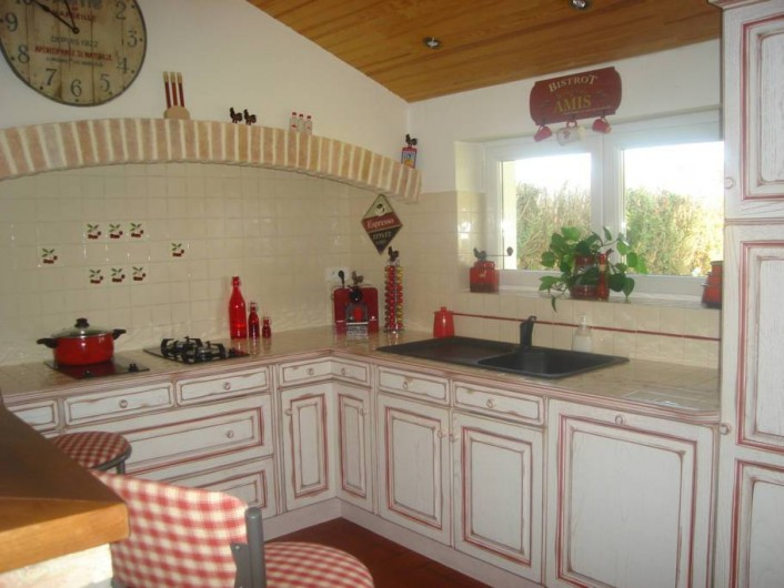 Location de vacances - Maison - Villa à Lège-Cap-Ferret - Cuisine