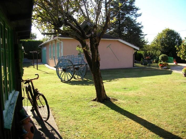 Location de vacances - Maison - Villa à Lège-Cap-Ferret - Arrière de la maison