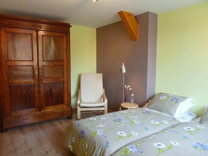 """Location de vacances - Gîte à Orschwiller - """"Myriam"""" Chambre 2 lit de 90x190"""