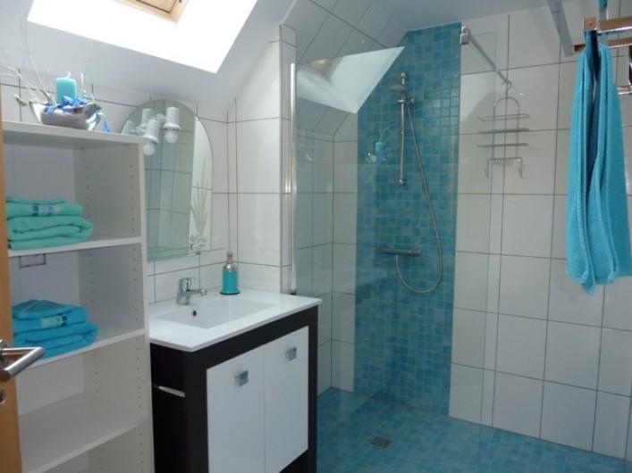 "Location de vacances - Gîte à Orschwiller - ""Myriam"" grande douche italienne WC"