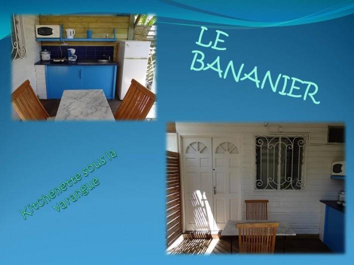 Location de vacances - Appartement à Saint-Gilles les Bains - Varangue d'un des logements