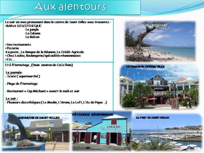 Location de vacances - Appartement à Saint-Gilles les Bains - Saint Gilles les Bains