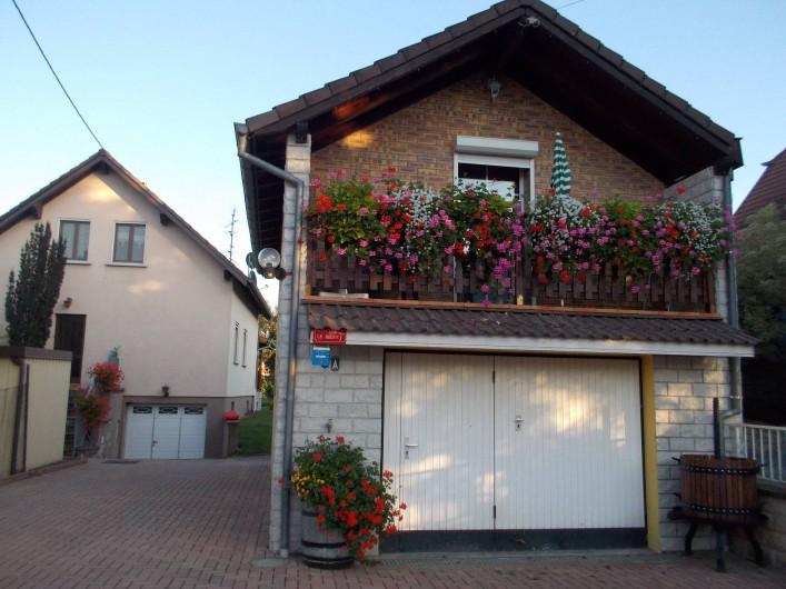 Location de vacances - Appartement à Berrwiller - vue de l'avant