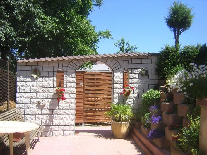 Location de vacances - Appartement à Berrwiller - terrasse extérieure