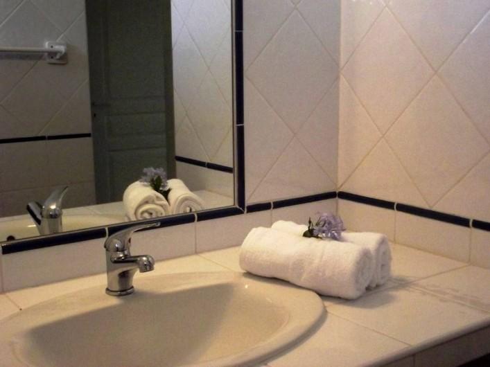 Location de vacances - Villa à Le Diamant - Salle de bain