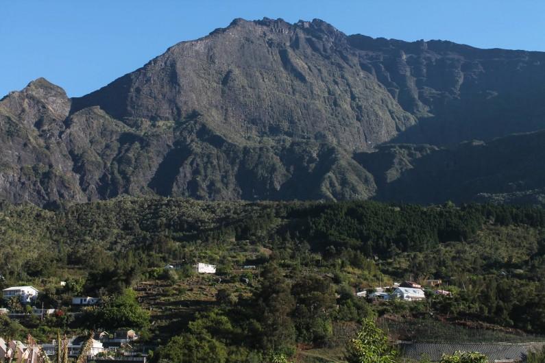 Location de vacances - Chalet à Cilaos - vue panoramique