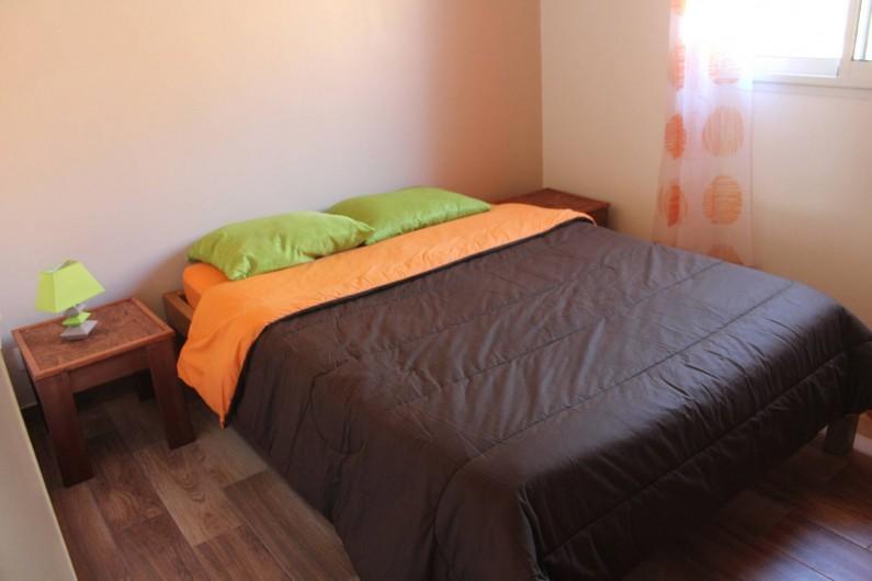 Location de vacances - Chalet à Cilaos - chambre avec lit double