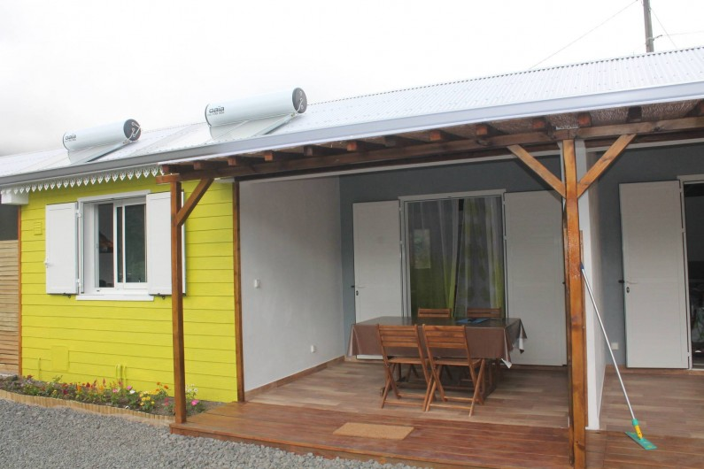 Location de vacances - Chalet à Cilaos - varangue