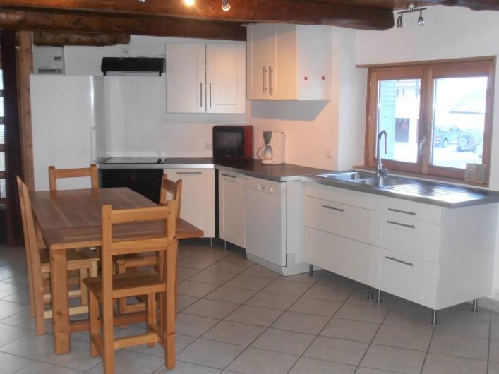 Location de vacances - Appartement à Ceillac - Le coin cuisine
