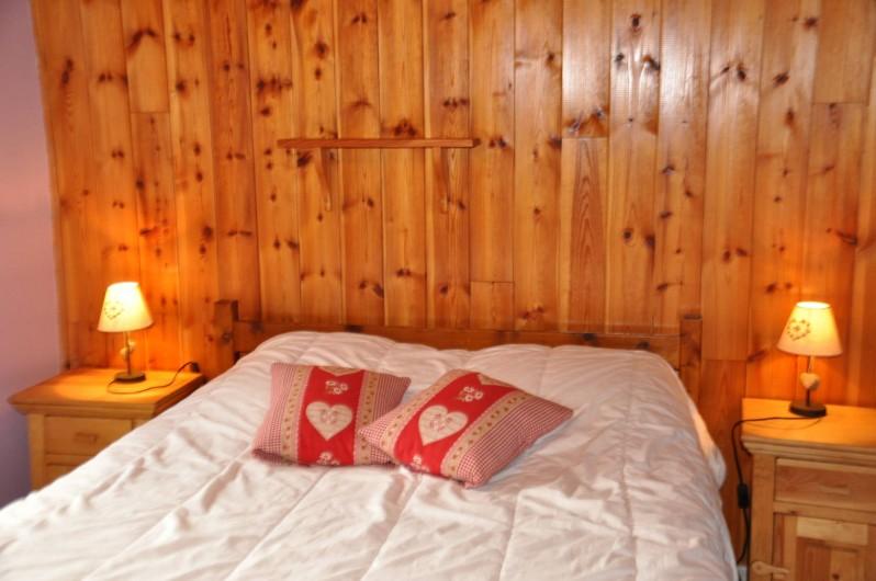 Location de vacances - Appartement à Ceillac - La chambre 1