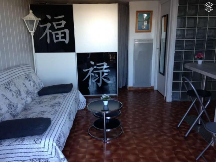 Location de vacances - Studio à Mandelieu-la-Napoule - séjour
