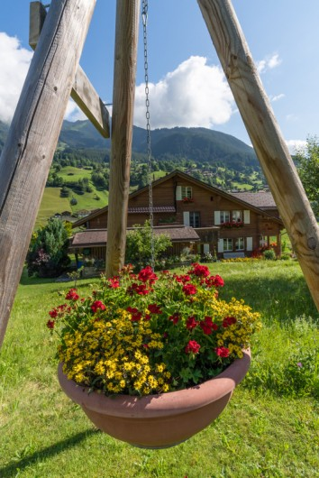 Location de vacances - Appartement à Grindelwald - Chalet im Boden avec Eiger côté nord
